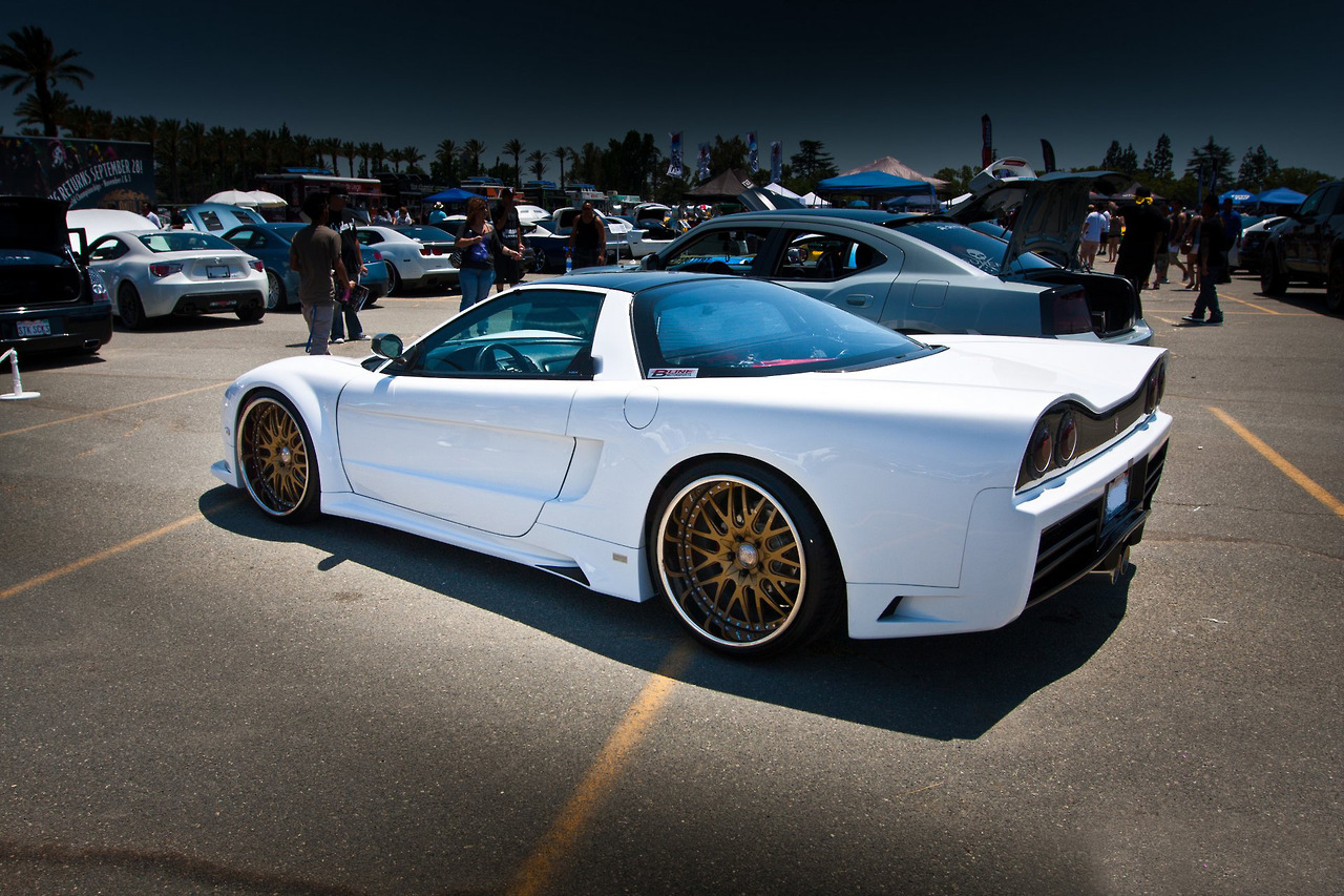 1991 Acura Nsx With Veilside Fortune Nsx Body Kit Tuning