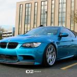 Atlantis Blue BMW M3 - D2FORGED CV13 Wheels