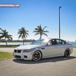 BMW M5 F10 with HRE S107