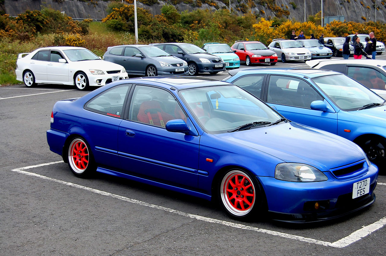 Tuning Honda Coupe