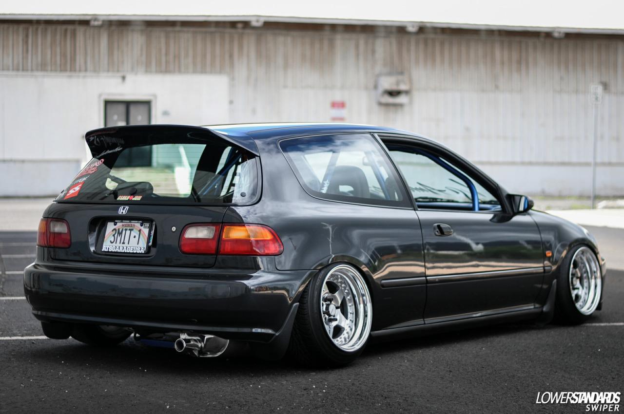 92 honda civic hatchback  | tuning.im