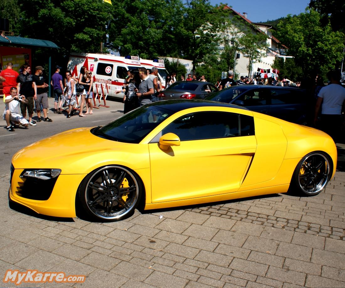 Modified Audi R8 3 Tuning