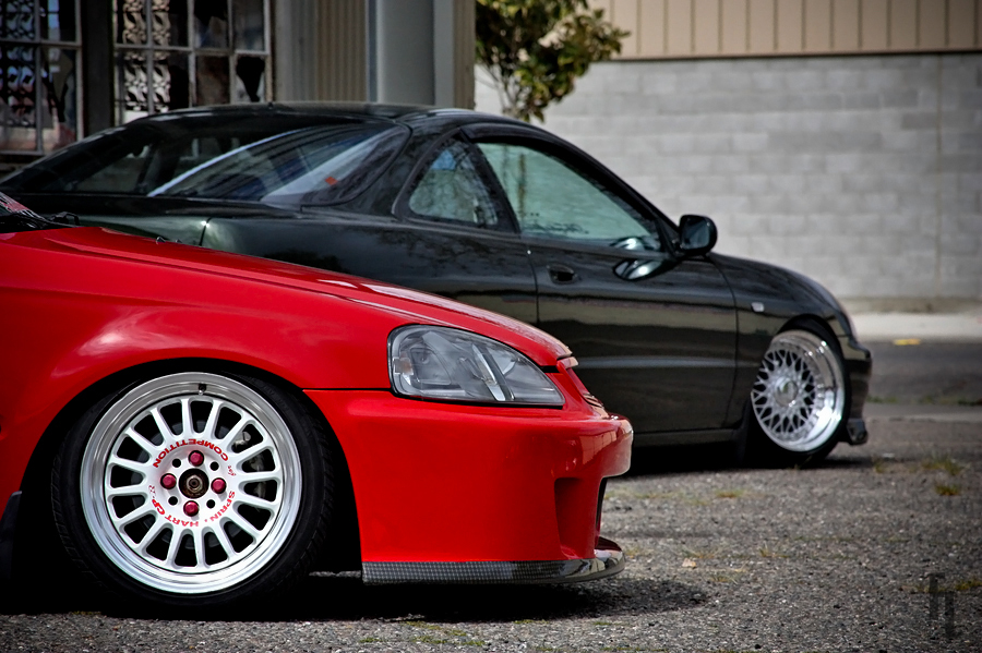 modified civic 6 coupe tuning 1 tuning
