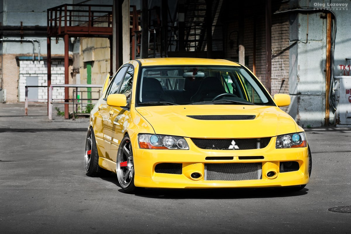 Modified Lancer Evo Ix 10 Tuning
