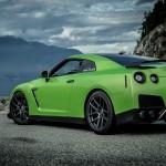 Nissan GT-R Poison Green