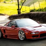 Stanced Acura NSX (1)