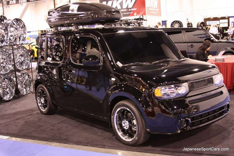 2009 nissan cube tuning tuning. Black Bedroom Furniture Sets. Home Design Ideas