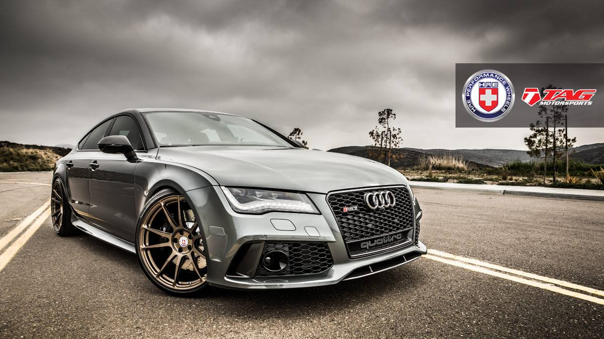 2014 Audi RS7 with HRE P44SC Wheels (2) | Tuning