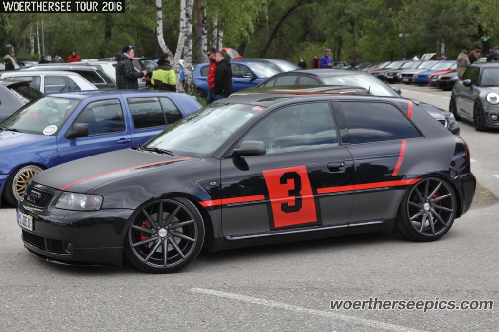 Black Audi A3 Tuning