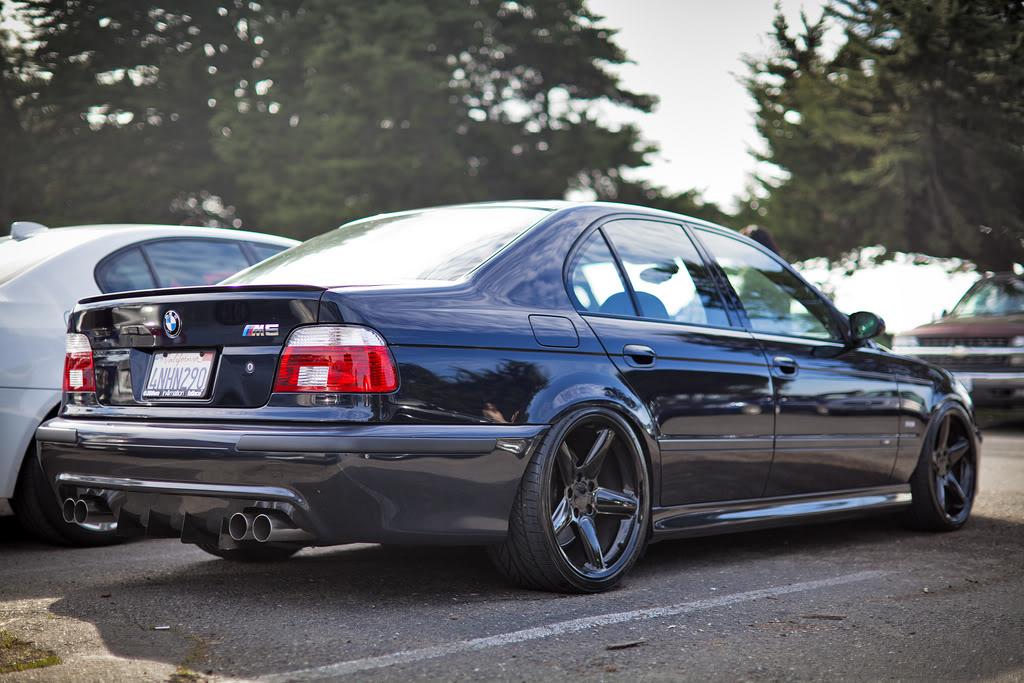 BMW E39 M5 Black