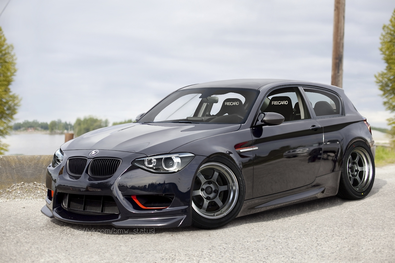 the new bmw 1 series sport line 06 2011 tuning. Black Bedroom Furniture Sets. Home Design Ideas