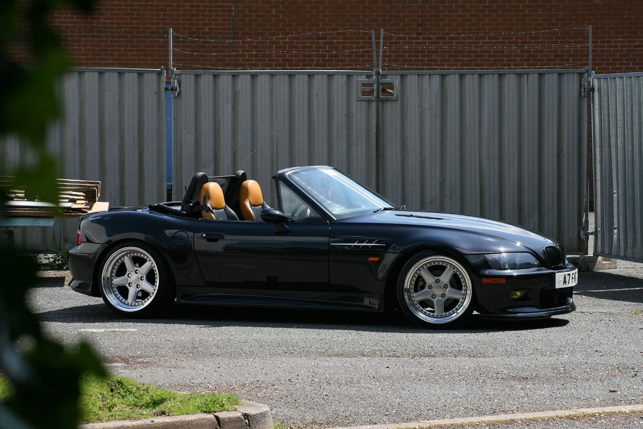 Bmw Z3 Roadster Tuning 3on Stanced Bmw Z3 Coupe