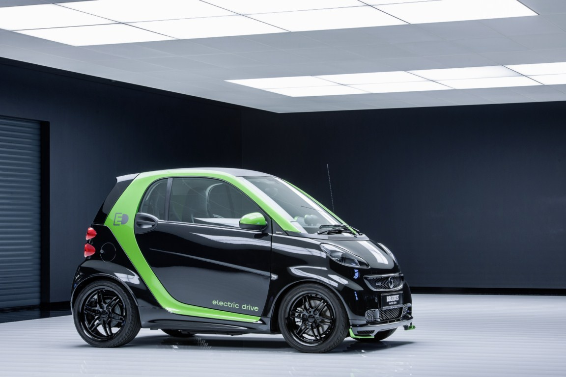 Brabus Smart Fortwo electric drive (1)  Tuning