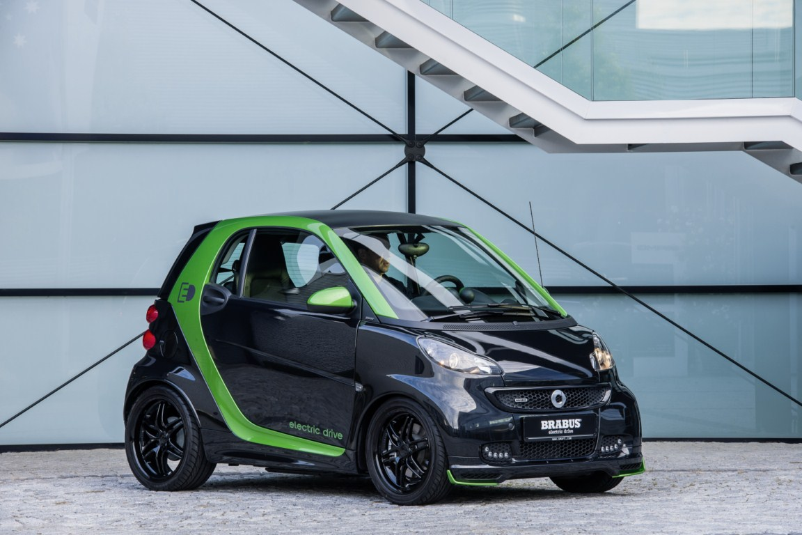 brabus smart fortwo electric drive 4 tuning. Black Bedroom Furniture Sets. Home Design Ideas