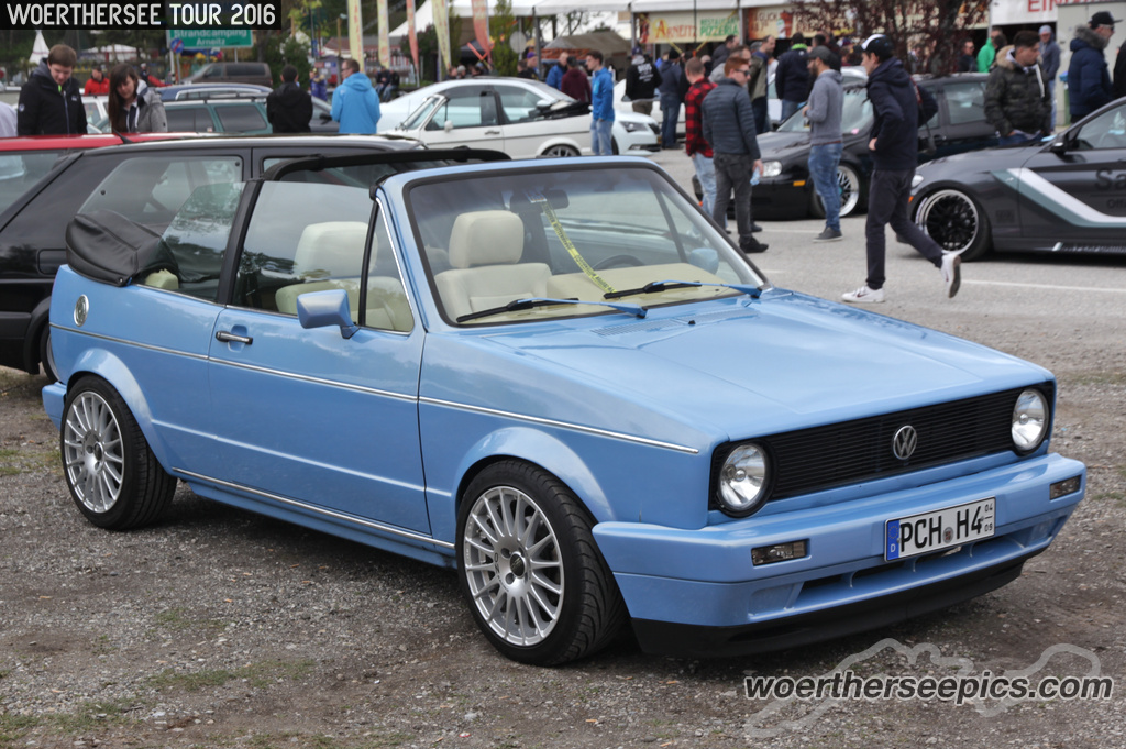blue vw golf mk1 cabrio tuning. Black Bedroom Furniture Sets. Home Design Ideas