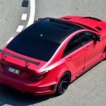 Mercedes-Benz CLS 63 AMG with Stealth GSC Wide Body Kit