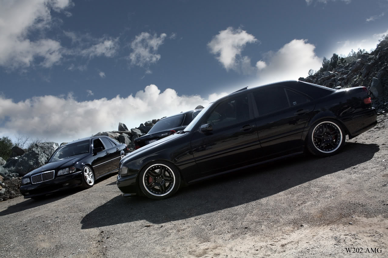 Mercedes c class w202 tuning 1 tuning for Mercedes benz c class w202