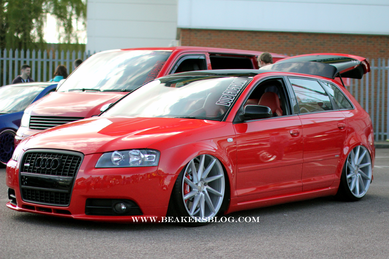Modified Audi A3 8p 4 Tuning