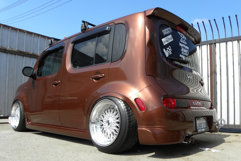 modified nissan cube 3 tuning. Black Bedroom Furniture Sets. Home Design Ideas