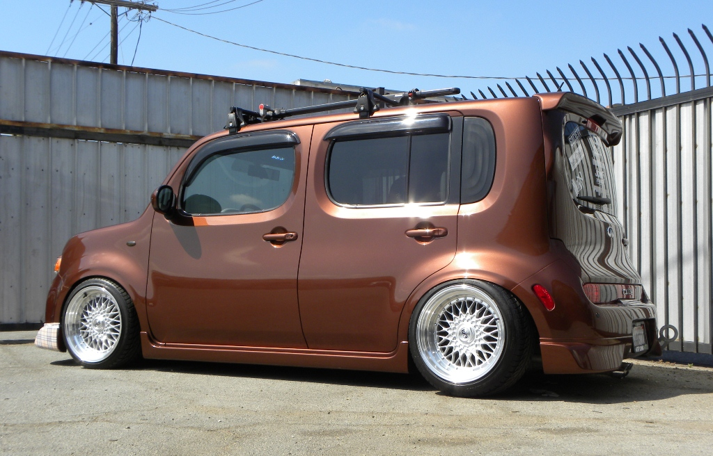 modified nissan cube 4 tuning. Black Bedroom Furniture Sets. Home Design Ideas