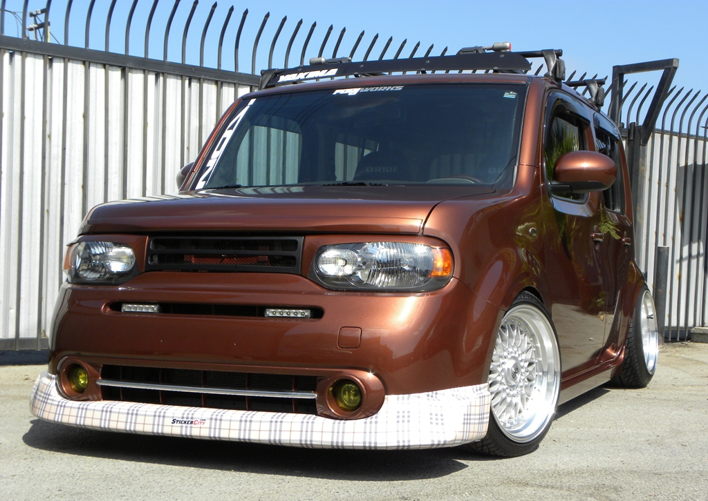 modified nissan cube 6 tuning. Black Bedroom Furniture Sets. Home Design Ideas