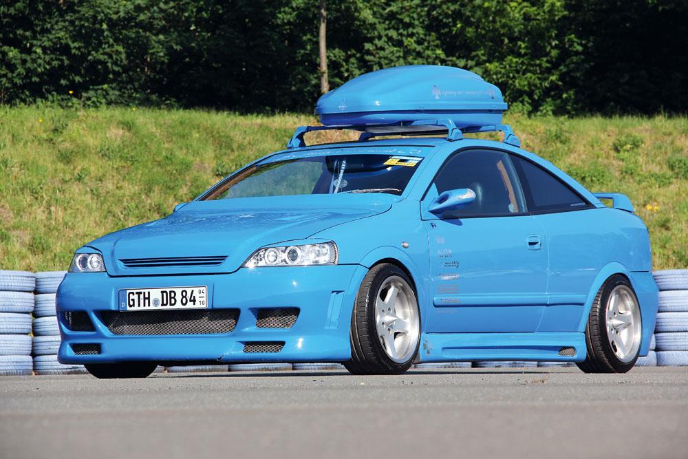 Opel astra g opc bertone tuning 2 tuning for Opel astra g interieurfilter