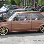 Bronze VW Golf Mk1