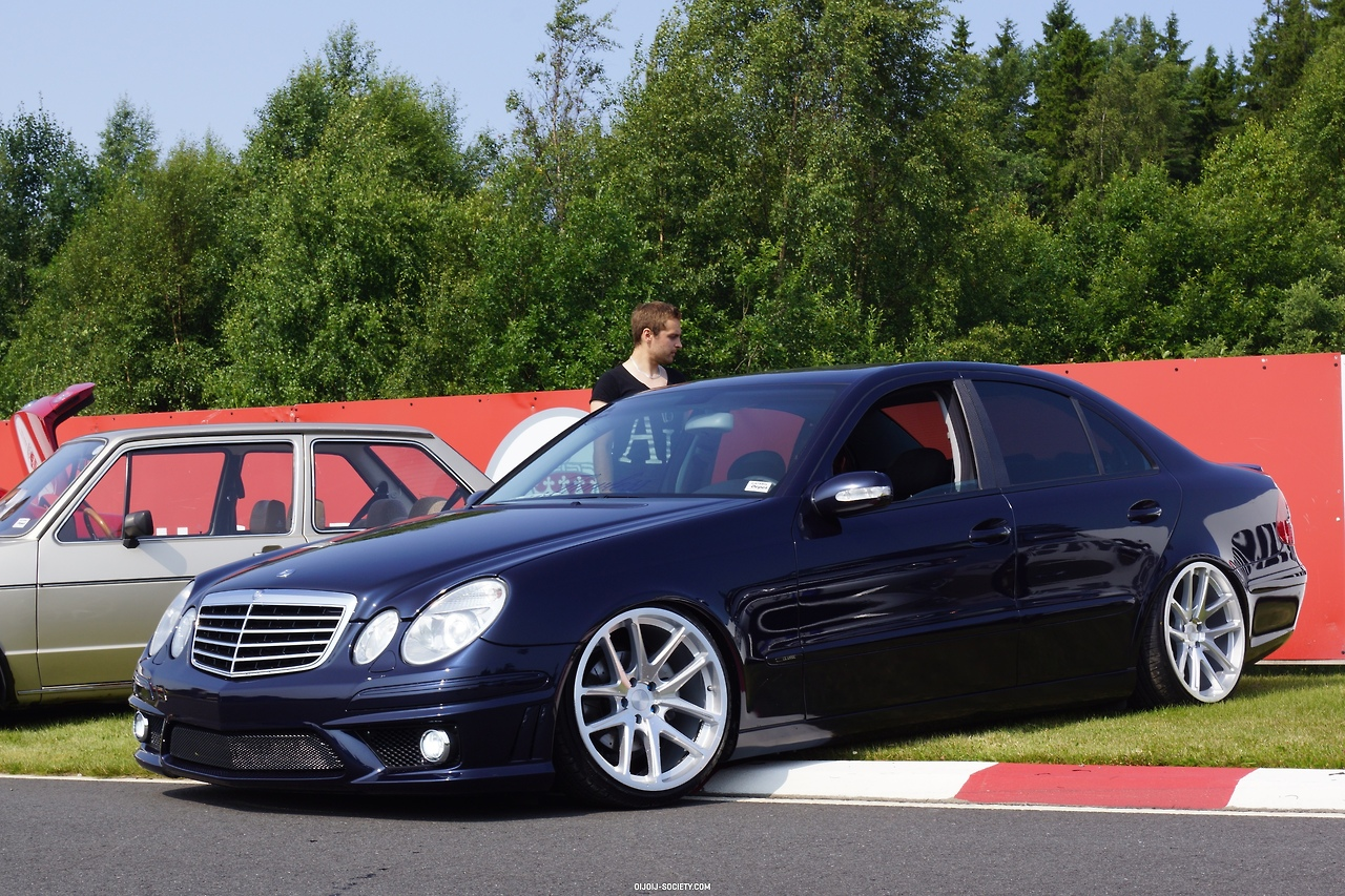 The Gallery For Gt Mercedes E Class 2007 Amg