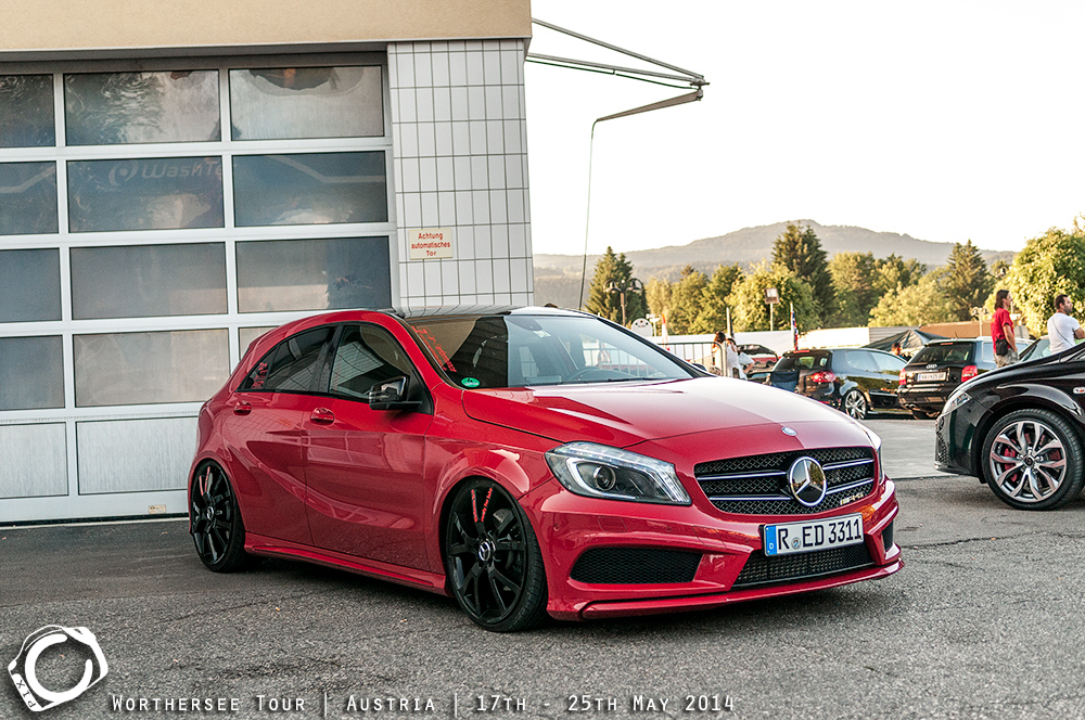 mercedes a class w176 tuning 1 tuning. Black Bedroom Furniture Sets. Home Design Ideas