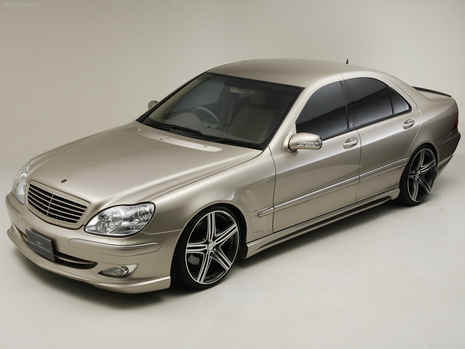 mercedes benz s class w220 wald international 3 tuning. Black Bedroom Furniture Sets. Home Design Ideas