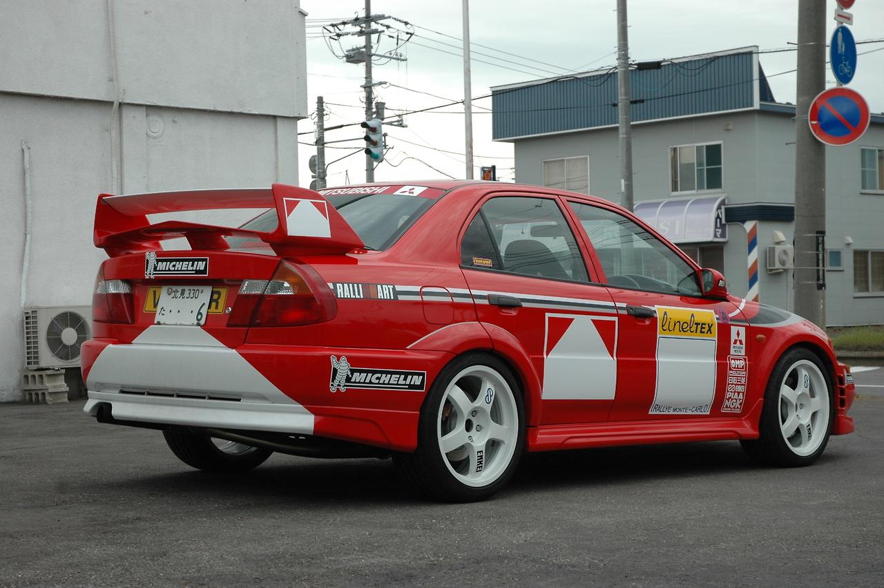 Mitsubishi Lancer Evolution 6 Tuning 4 Tuning