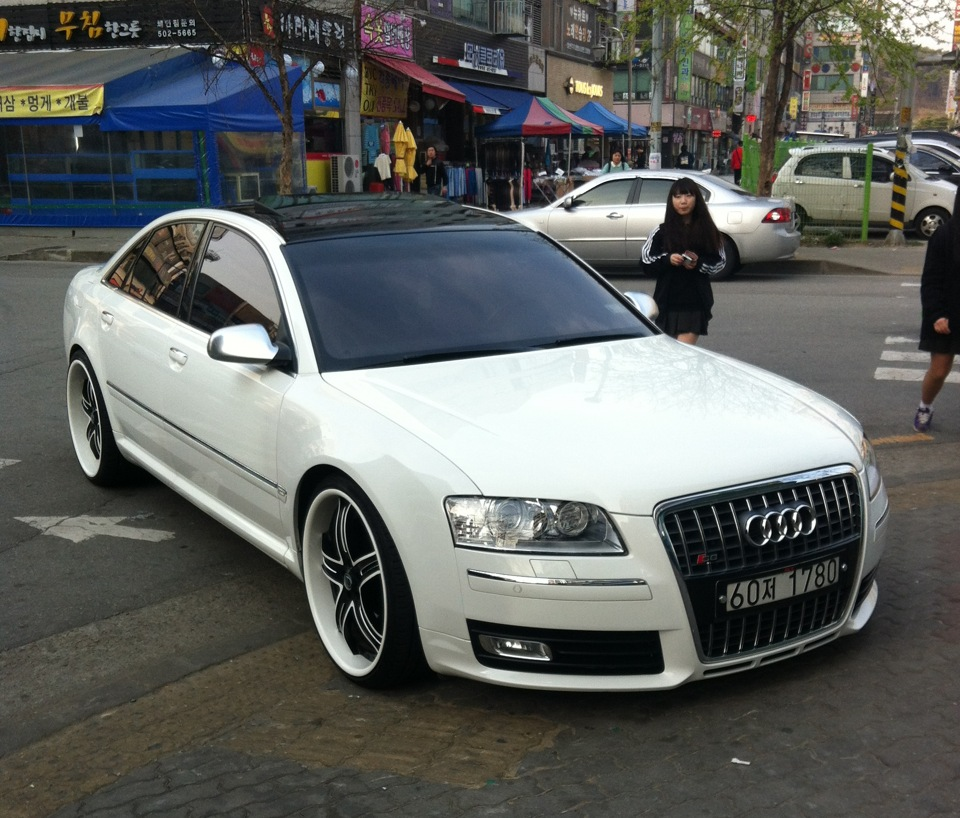Modified Audi A8 D3 2 Tuning