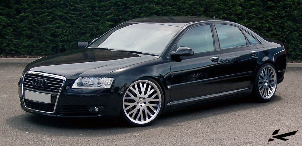 Modified Audi A8 D3 4 Tuning