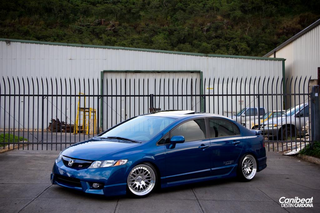 Modified Honda Civic Fa5 1 Tuning