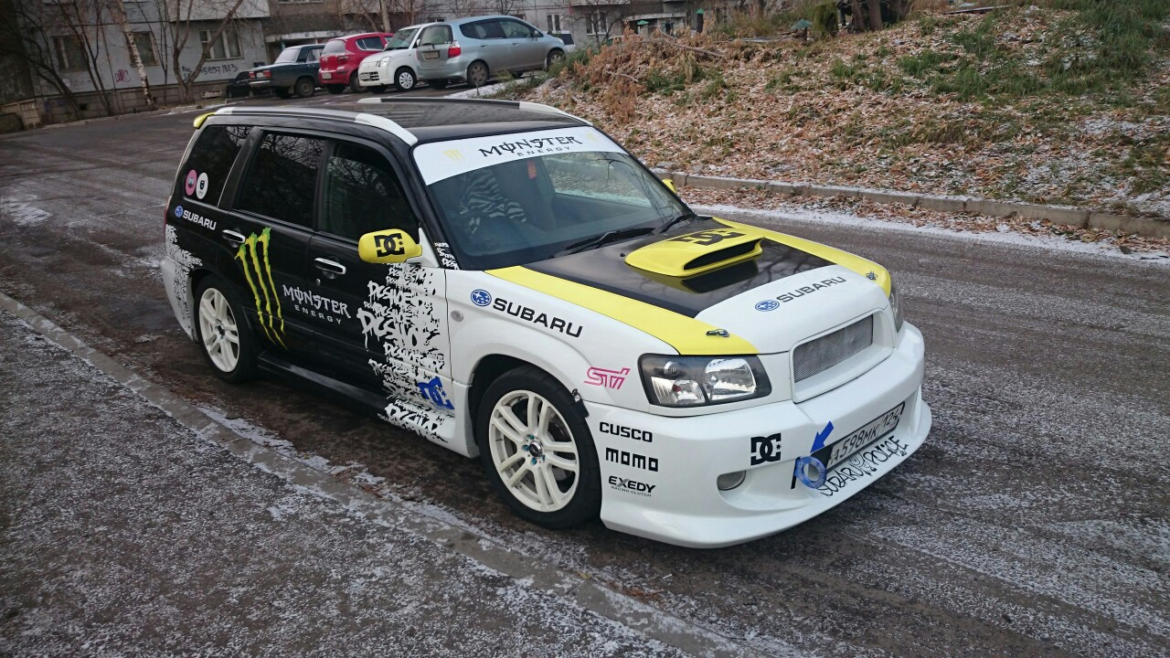 Modified Subaru Forester Dc Shoes on Subaru Forester