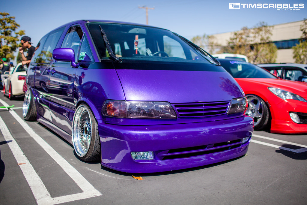 Toyota Previa Tuning (3) | Tuning
