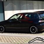 Black Alfa Romeo 145