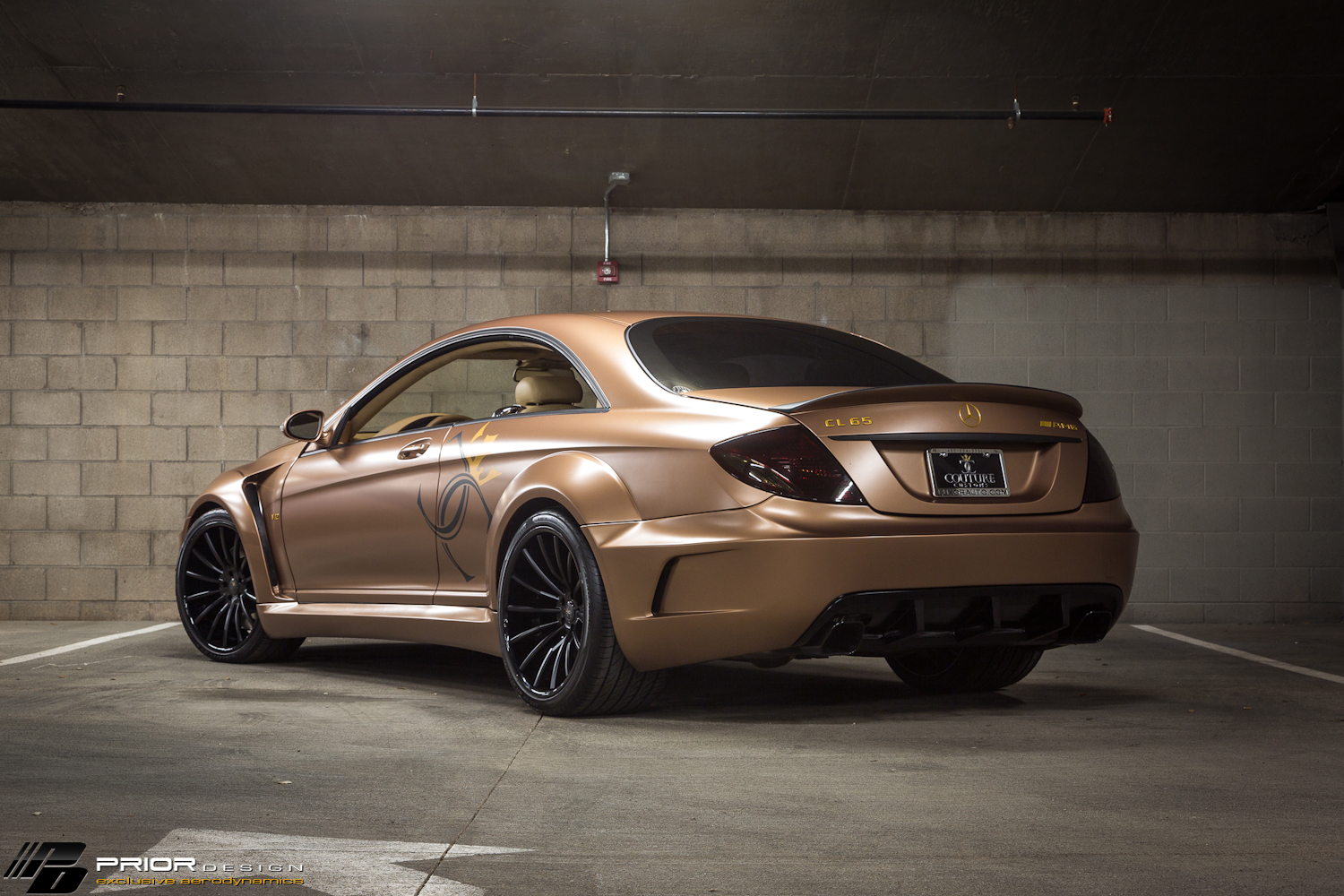Mercedes benz cl65 amg prior design black edition widebody for Mercedes benz cl65 amg coupe