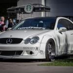 Modified Mercedes CLK  C209 (1)