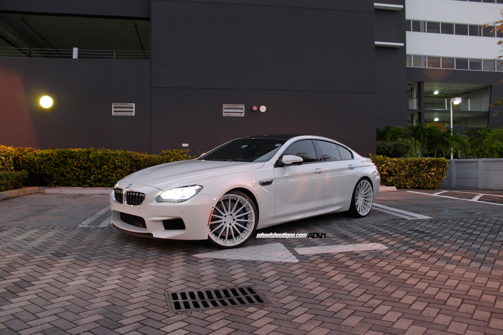 Bmw M6 Gran Coupe On Adv15 Mv2 Wheels 01 Tuning