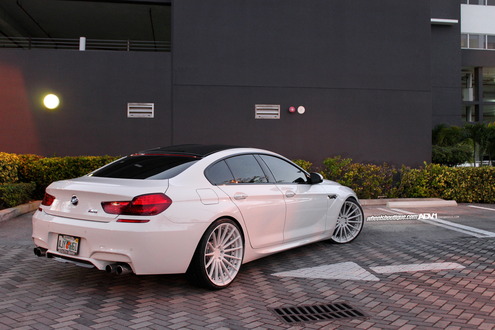 Bmw M6 Gran Coupe On Adv15 Mv2 Wheels 02 Tuning