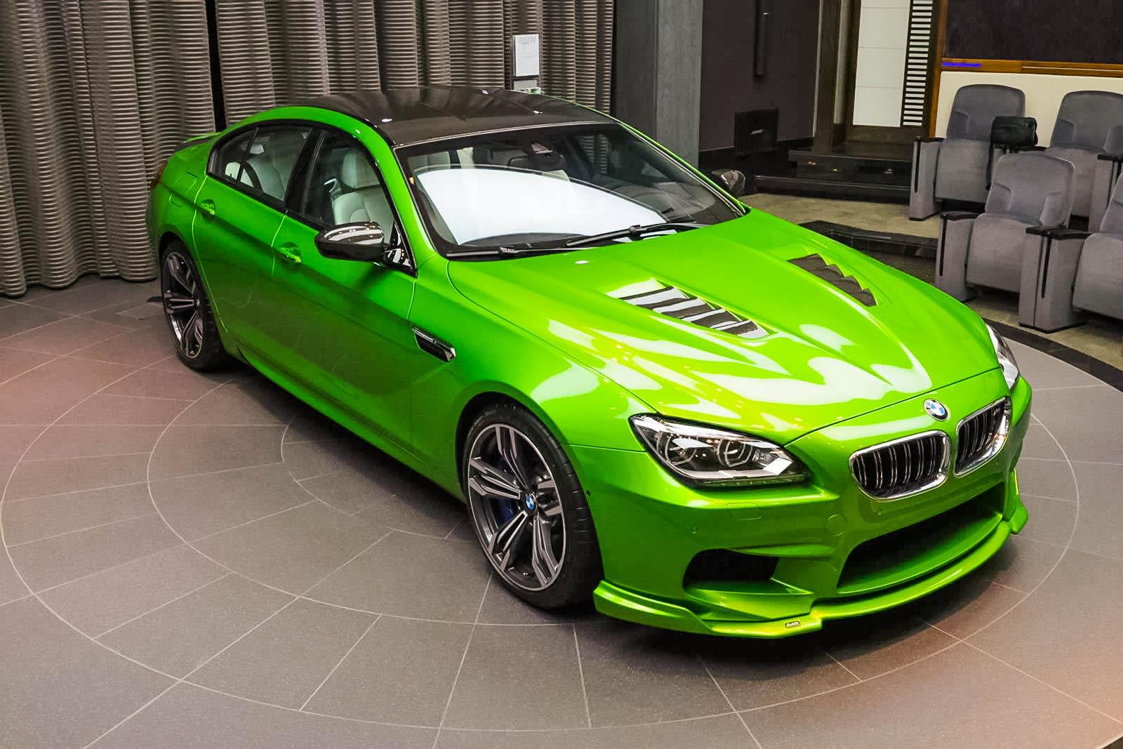 Java Green Bmw M6 Gran Coupe Tuning 1 Tuning