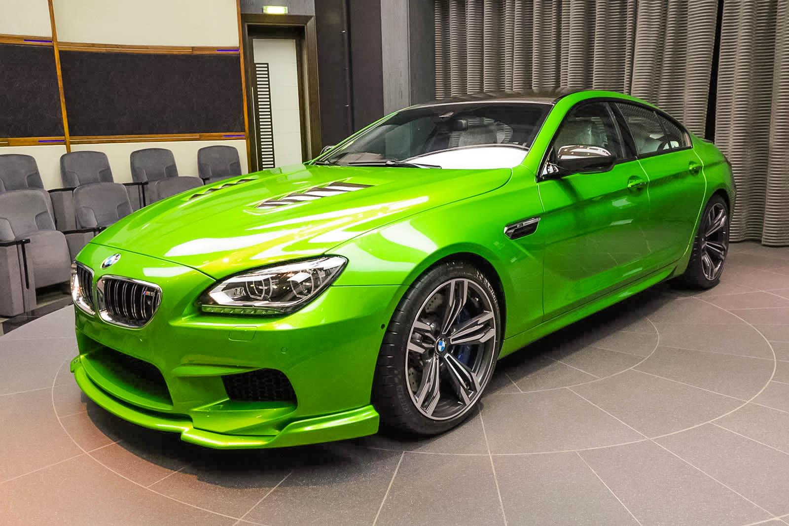 Java Green Bmw M6 Gran Coupe Tuning 2 Tuning