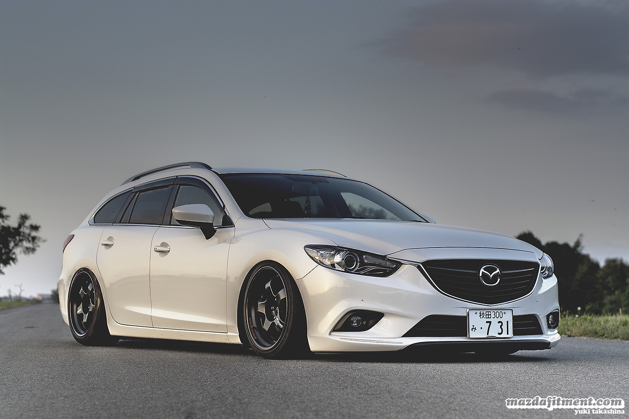 mazda6 gj estate tuning 1 tuning. Black Bedroom Furniture Sets. Home Design Ideas