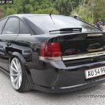 Black Opel Vectra