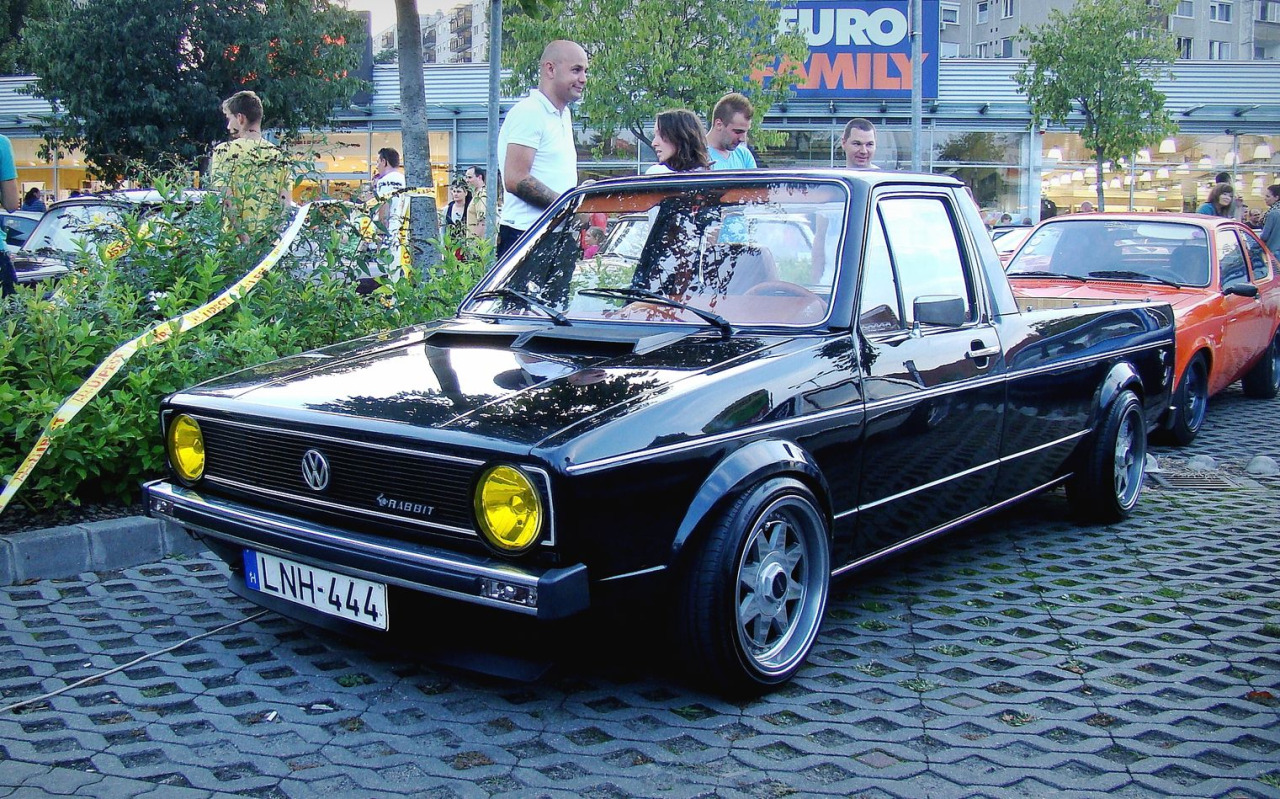 volkswagen rabbit pickup tuning 1 tuning. Black Bedroom Furniture Sets. Home Design Ideas