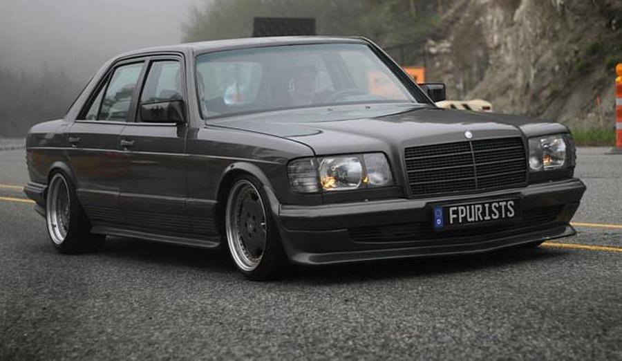 Mercedes benz w126 tuning 5 tuning for Mercedes benz w126
