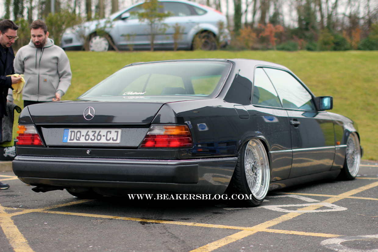Mercedes W124 Coupe 11 Tuning