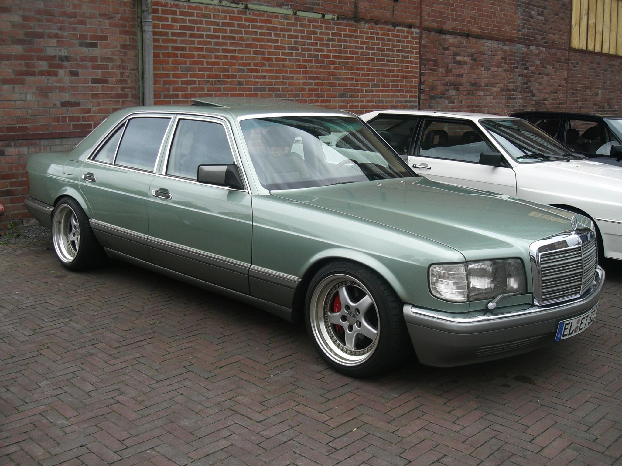 Tuning Mercedes W