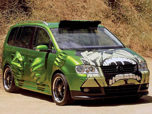 Fast And Furious Tokyo Drift Volkswagen Touran 2 Tuning